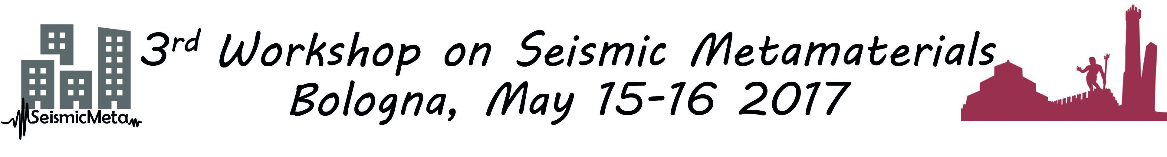3rd workshop on Seismic Metamaterials